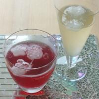 梅ジュースと紫蘇ジュース